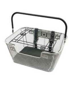 Basket Pet Front Silver