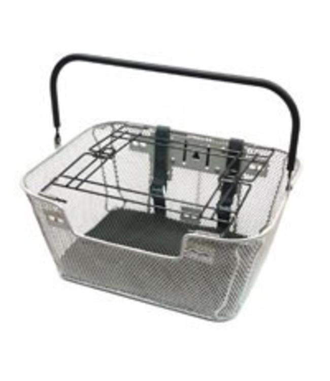 Basket Pet Front Silver #8861