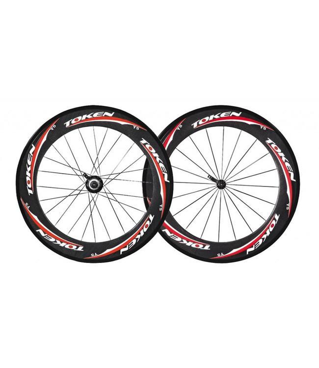 Token Token T5 Carbon Wheel Tubular Front Only