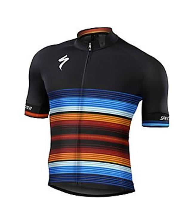 Specialized Jersey SL Expert Black Fiesta Medium - Epic Cycles d3777590c