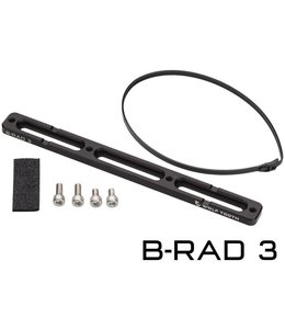 Wolf Tooth Wolf Tooth B-RAD Base Mount - Black - 3 Slot