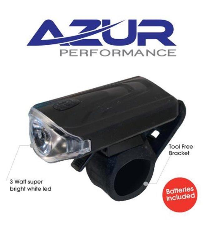 Azur Azur Front Light 3 watt Battery