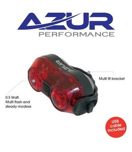 Azur Azur Rear Tail Light AAA Battery