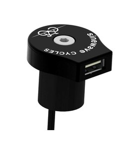 Sinewave Reactor Black USB Charger