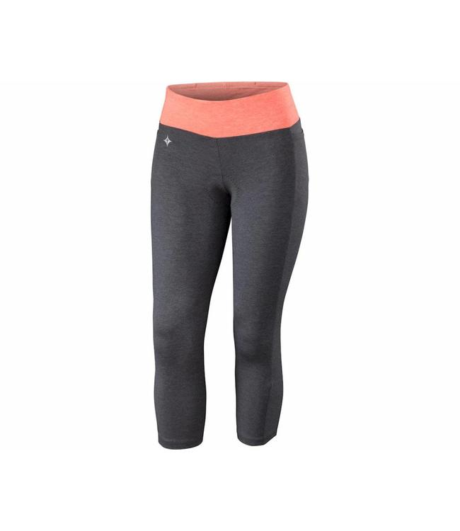 Specialized Specialized Short Shasta 3/4 Cycling Womens Carbon / Coral XS