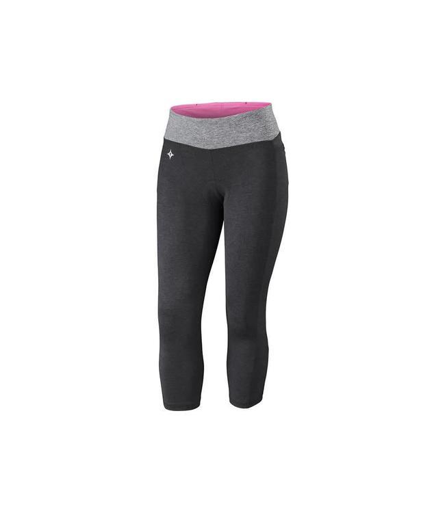 Specialized Specialized Short Shasta 3/4 Cycling Womens Black / Heather XXS