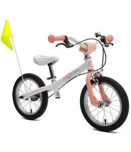 ByK Byk E250L Learner Balance Bike Coral Pink