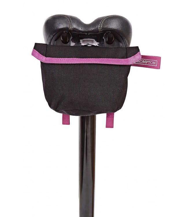 Brompton Brompton Saddle Pouch Black BerryCrush