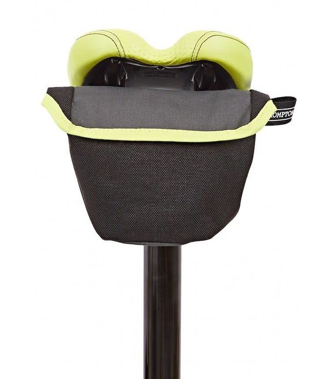 Brompton Brompton Saddle Pouch Grey and Lime Green