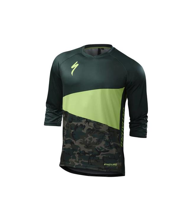 Specialized Specialized MTB Jersey Enduro Comp 3/4 Monster Green /Camo Medium