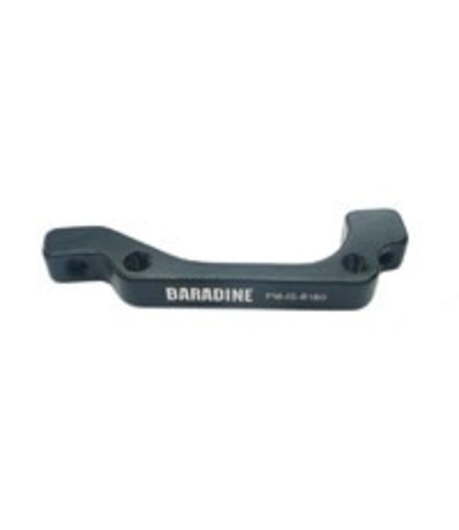 Baradine Disc Brake Adaptor - For Front 180mm or Rear 160mm, Black 1507