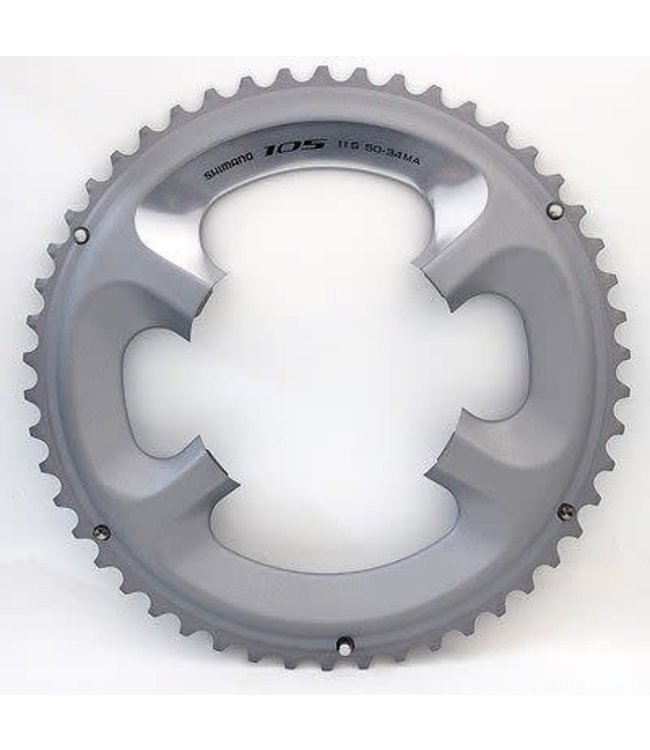 Shimano Shimano Chainring Road FC 5800S 11 Speed 50 Teeth Silver For 50 - 34 T