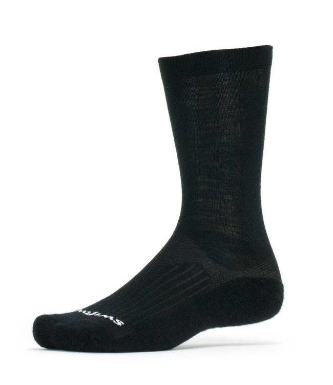 Swiftwick Swiftwick Sock Pursuit Merino Seven Black Medium