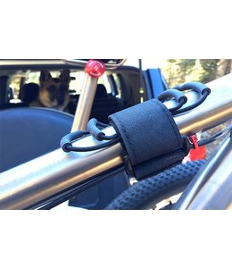 back country research Back Country Research Super 8 Top Tube Mount - Black