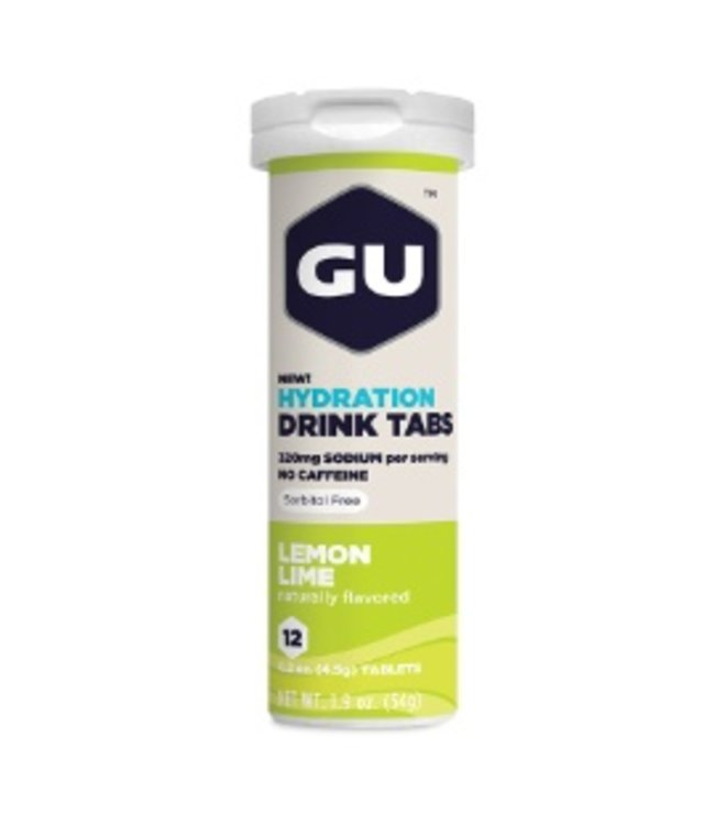 Gu GU Hydration Tablets Lemon lime