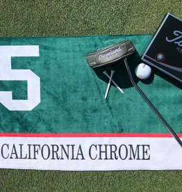 California Chrome Saddle Cloth Golf Towel