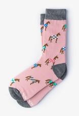 Ladies Horsin' Around Sock