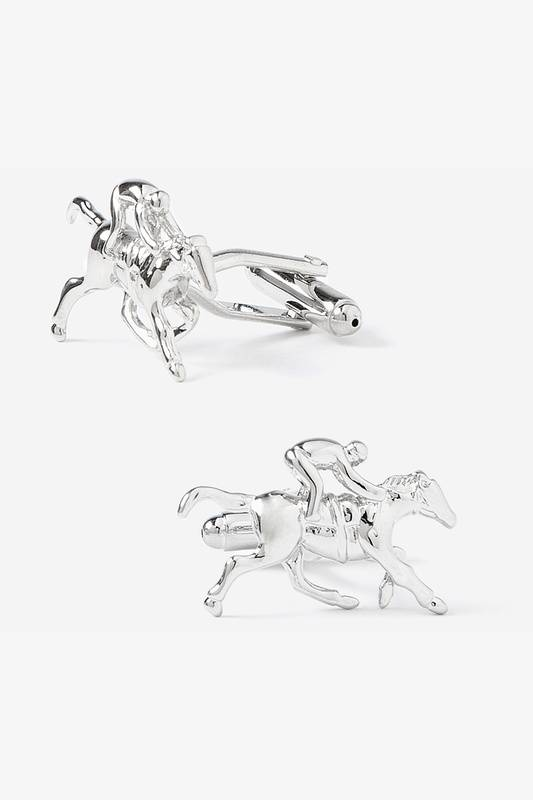 Horse and Jockey Cufflinks