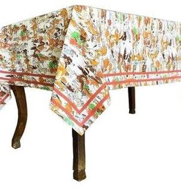 "Pomegranate Paddock Tablecloth 55""x55"""