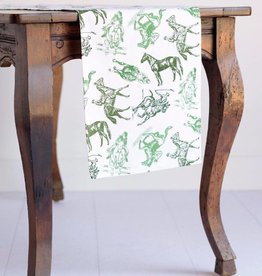 Equestrian Sketch Table Runner