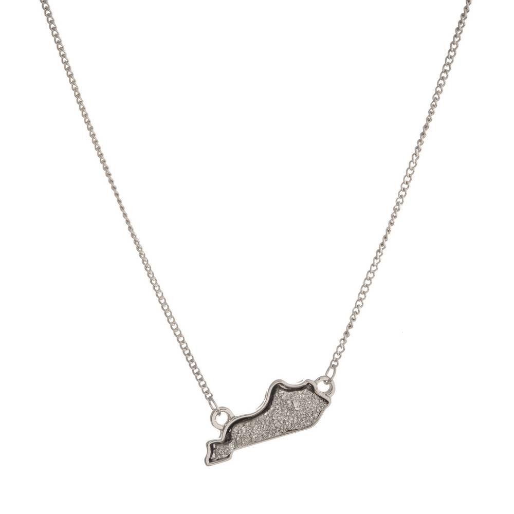Dusty Ky State Necklace