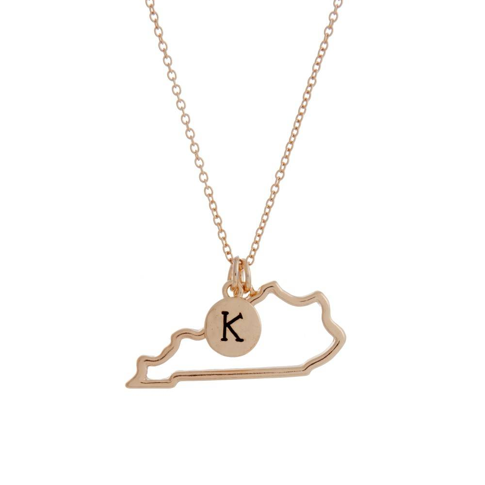 "Kentucky ""K"" Necklace"