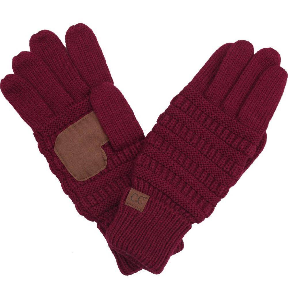 The Original C.C. Beanie Ribbed C.C. Glove