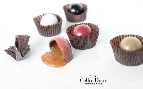 Cellar Door Chocolates Damn Fine Kentucky Sea Salt Caramels