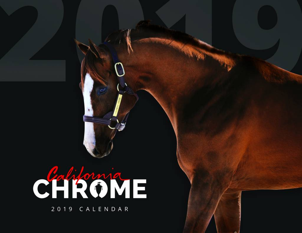 2019 California Chrome Calendar
