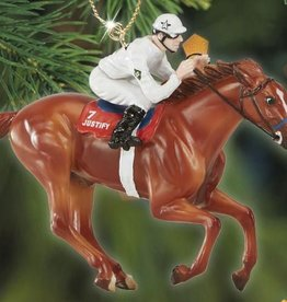 Breyer Justify Breyer Christmas Ornament