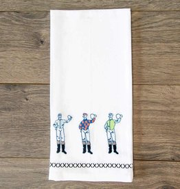 Pomegranate Three Jockey Hand Towel