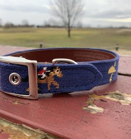 TM Custom Needlepoint Dog Collar
