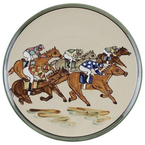 Home Stretch Platter - Round