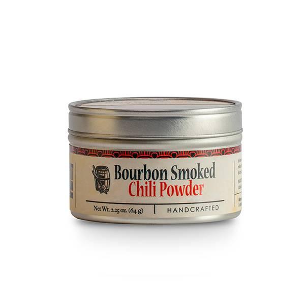 Bourbon Smoked Chili Powder - 2.25 oz. Tin