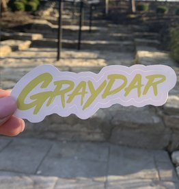 Graydar Sticker