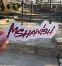 Mshawish Sticker