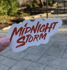 Midnight Storm Sticker