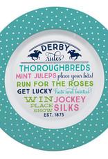 Derby Rules Melamine Round Platter