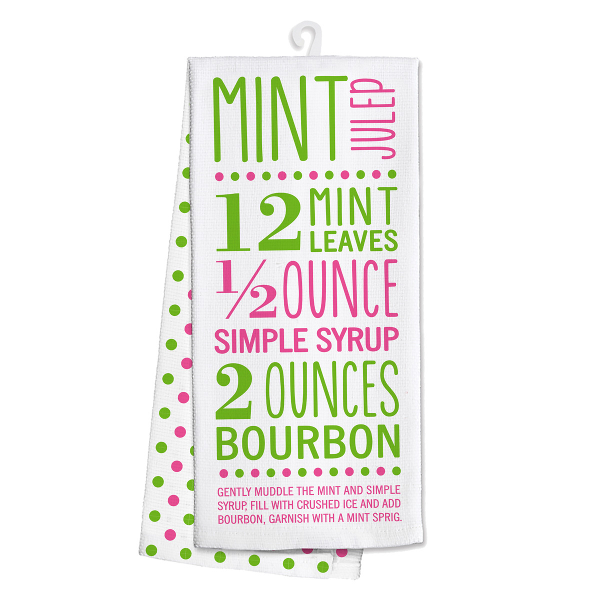Mint Julep Kitchen Tea Towel