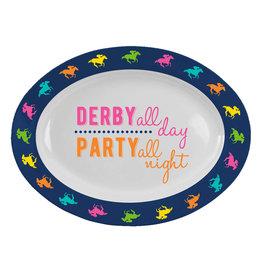 Derby Melamine Oval Platter
