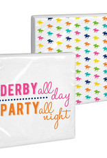 Derby Beverage Napkin