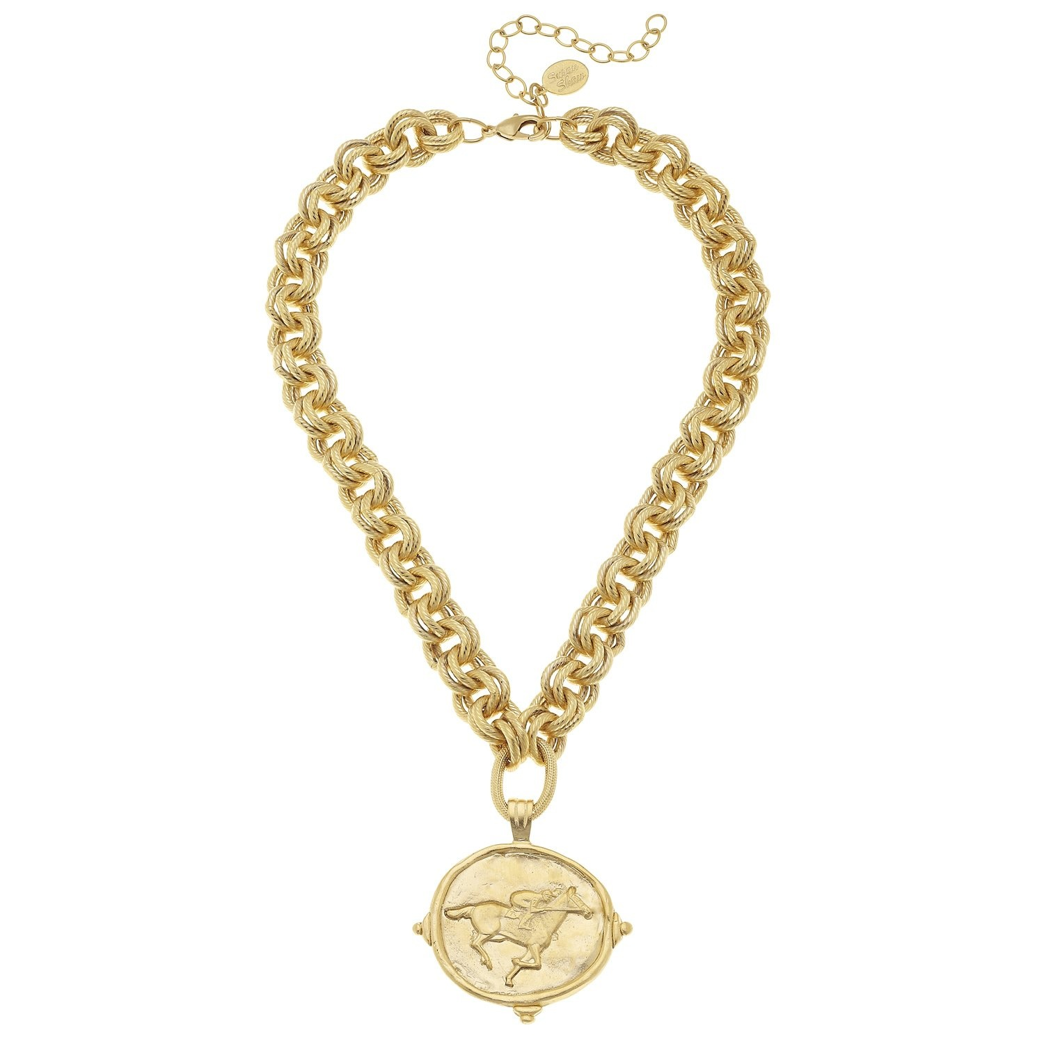 Single Equestrian Charm Necklace
