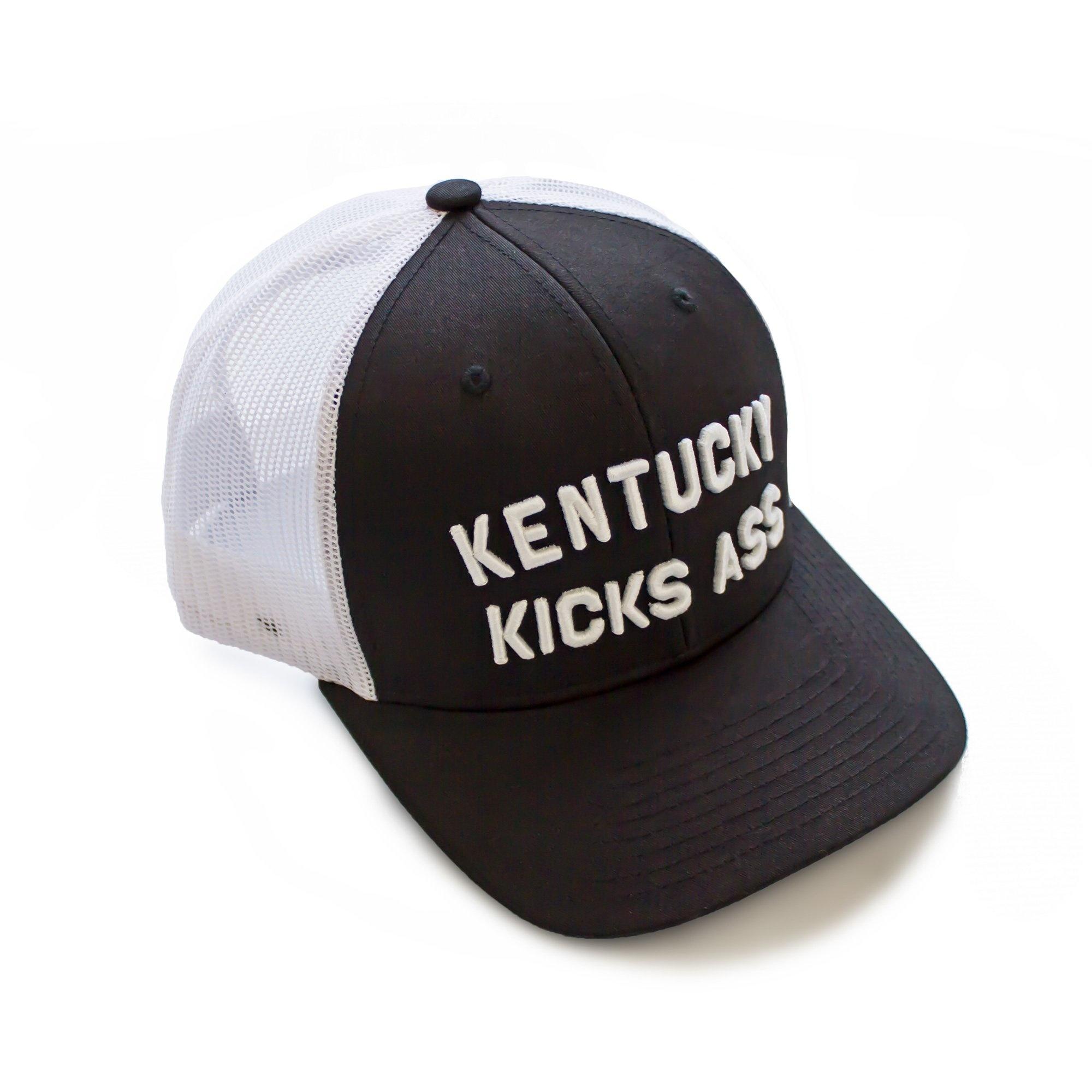 Kentucky Kicks Ass Trucker Hat