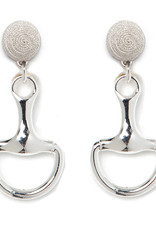 Belmont Horse Bit Earrings