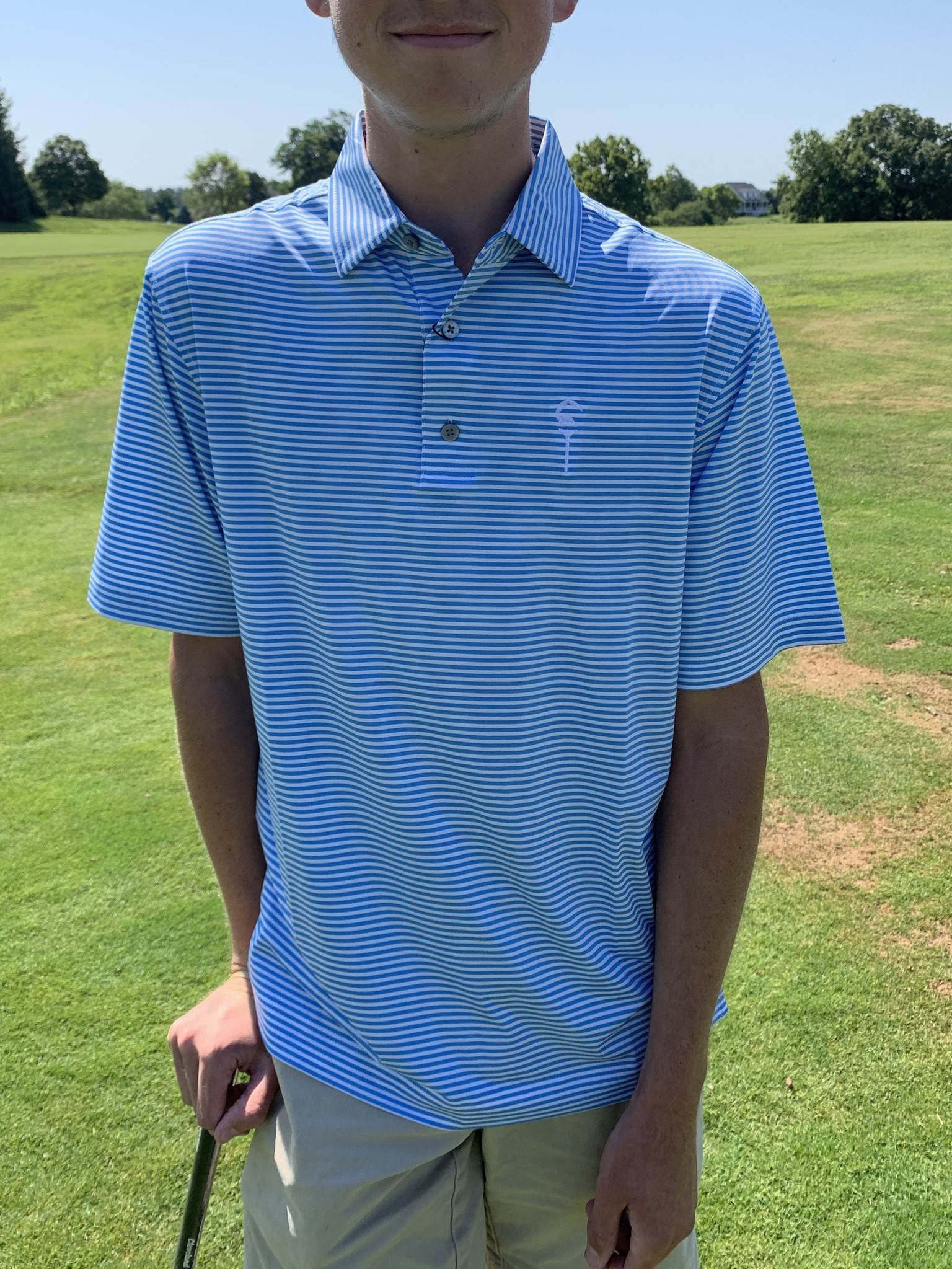 FootJoy Thoroughbred Golf Logo Polo