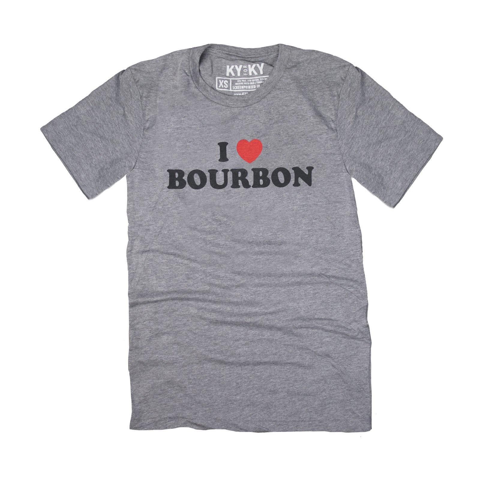 KY for KY I Heart Bourbon Tee