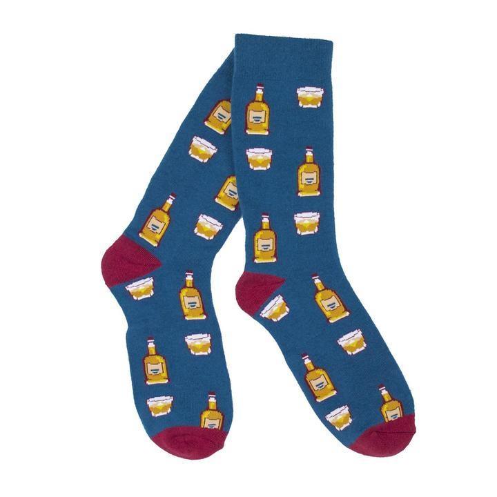 KY for KY Bourbon On The Rocks Socks