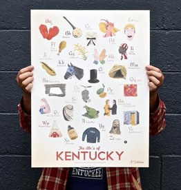 KY for KY ABC's of Kentucky Print