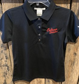 Ladies California Chrome Polo - Black