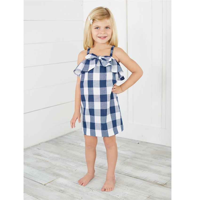 Gingham Bow Dress
